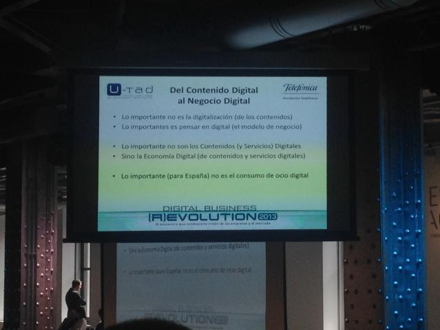 Del contenido digital al negocio digital